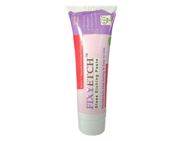 Fixey Etch Glass Etching Paste