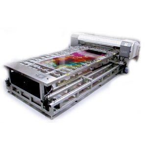Flatbed Illusion Printer