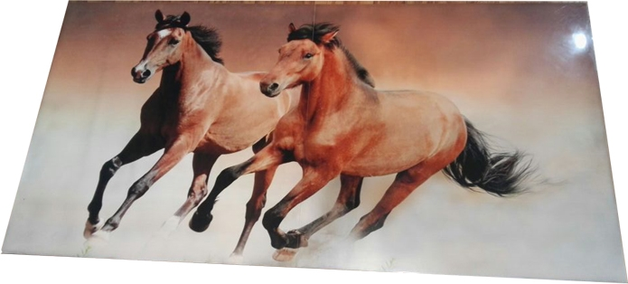 Printed Running Horse Tiles
