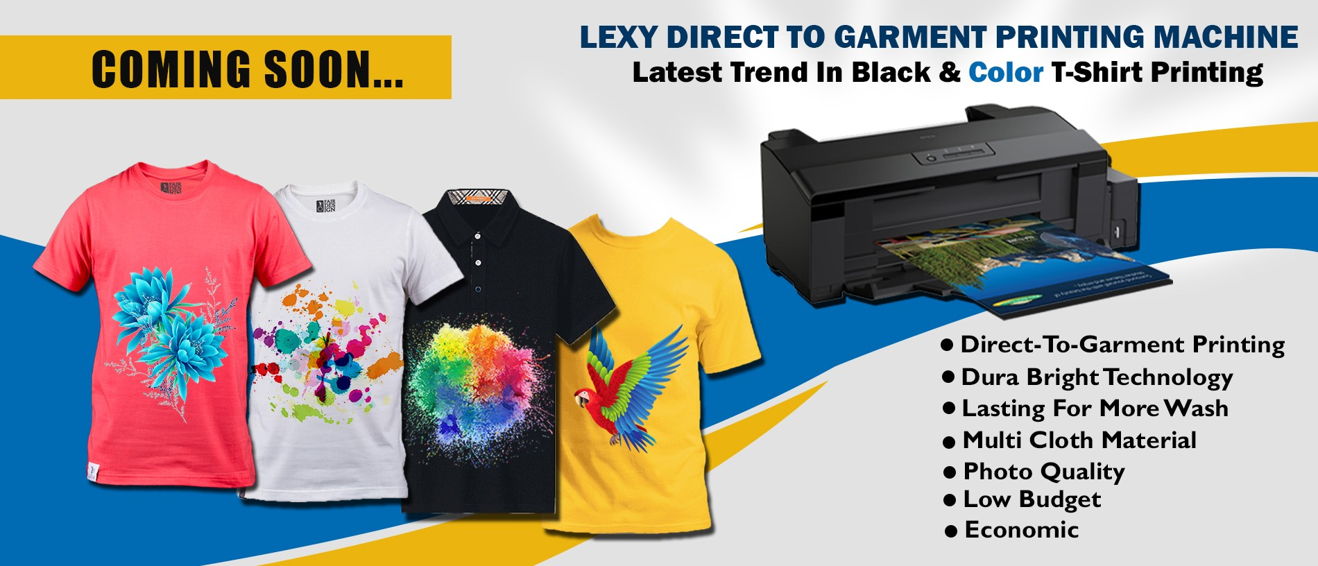 Lexy T-Shirt Printing Machine